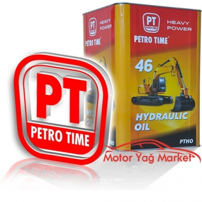 Petro Time Hydraulic Oil 46No 16 Litre Hidrolik Yağ