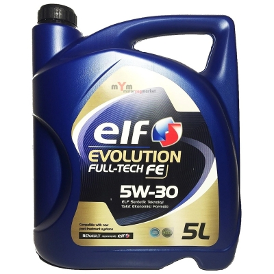 Elf Evolution Full-Tech FE 5W-30 5 Litre DPF'li Motor Yağı